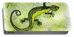 Green Lizard Portable Battery Charger