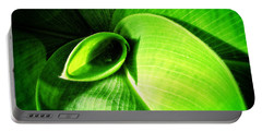 Green Paradise - Leaves By Sharon Cummings Portable Battery Charger