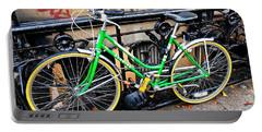 Green Schwinn Bike  Nyc Portable Battery Charger