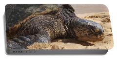 Green Sea Turtle 2 - Kauai Portable Battery Charger