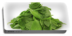 Green Spinach Portable Battery Charger