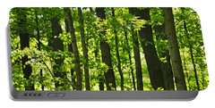 Green Spring Forest Portable Battery Charger