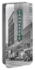 Green Tennessee Theatre Marquee Portable Battery Charger