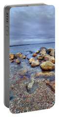 Portable Battery Charger featuring the photograph Greenwich Bay by Alex Grichenko