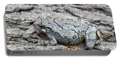 Portable Battery Charger featuring the photograph Cope's Gray Tree Frog by Judy Whitton
