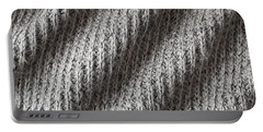 Grey Wool Portable Battery Charger