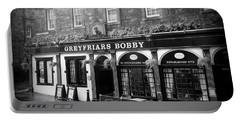Greyfriars Bobby In Edinburgh Scotland  Portable Battery Charger