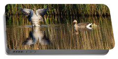 Greylag Goose Family Portable Battery Charger