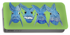 Grinning Fish Portable Battery Charger