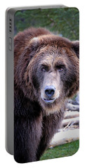 Grizzly Portable Battery Charger by Athena Mckinzie