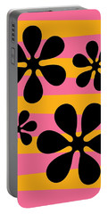 Groovy Flowers I Portable Battery Charger