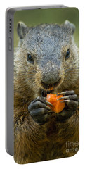 Groundhogs Favorite Snack Portable Battery Charger
