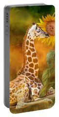 Growing Tall - Giraffe Portable Battery Charger