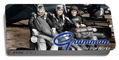 Grumman Test Pilots Portable Battery Charger