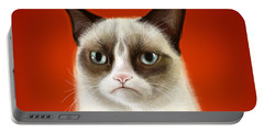 Grumpy Cat Portable Battery Charger