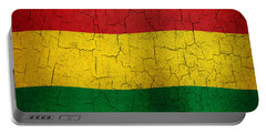 Grunge Bolivia Flag Portable Battery Charger