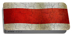 Grunge Costa Rica Flag Portable Battery Charger