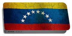 Grunge Venezuela Flag Portable Battery Charger