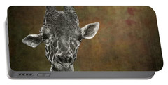 Grungy Giraffe 5654 Brown Portable Battery Charger