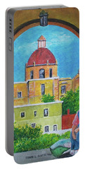 Guanajuato Woman Portable Battery Charger by Frank Hunter