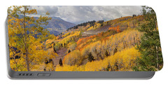 Guardsman Pass Aspen - Big Cottonwood Canyon - Utah Portable Battery Charger