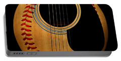 Guitar Baseball Square Portable Battery Charger