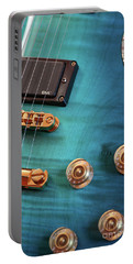Portable Battery Charger featuring the photograph Guitar Blues by Joy Watson