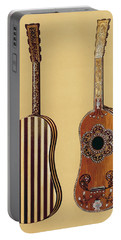 Guitar Inlaid With Mother-of-pearl Portable Battery Charger