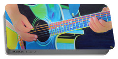 Guitar Man Portable Battery Charger