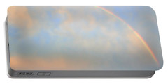 Portable Battery Charger featuring the photograph Gulf Coast Rainbow by Charlotte Schafer