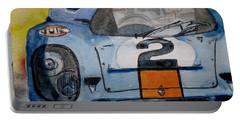 Gulf Porsche Portable Battery Charger