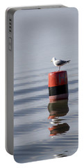 Gull Portable Battery Charger by Spikey Mouse Photography