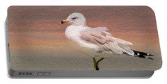 Gull Onthe Beach Portable Battery Charger
