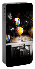 Portable Battery Charger featuring the photograph Series - Gumball Memories 1 - Iconic New York City by Miriam Danar
