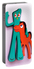 Gumby And Pokey B F F Portable Battery Charger