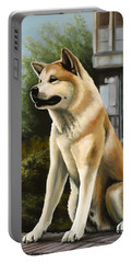 Hachi Painting Portable Battery Charger