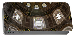 Hagia Sofia Interior 06 Portable Battery Charger by Antony McAulay