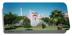 Hagia Sofia Istanbul Turkey Portable Battery Charger