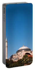 Hagia Sophia Blue Sky 02 Portable Battery Charger