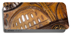Hagia Sophia Interior 02 Portable Battery Charger
