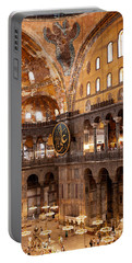 Hagia Sophia Interior 05 Portable Battery Charger