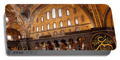 Hagia Sophia Interior 06 Portable Battery Charger
