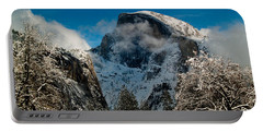 Half Dome Winter Portable Battery Charger