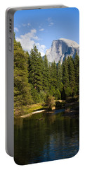 Half Dome Yosemite National Park Portable Battery Charger