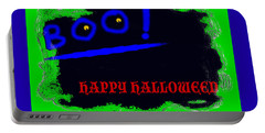 Halloween Boo Portable Battery Charger
