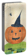 Halloween II Portable Battery Charger by Courtney Prahl