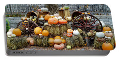 Halloween Pumpkins Portable Battery Charger
