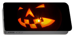 Halloween - Smiling Jack O' Lantern Portable Battery Charger