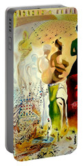Halucinogenic Toreador By Salvador Dali Portable Battery Charger by Henryk Gorecki