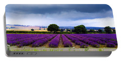 Hampshire Lavender Field Portable Battery Charger